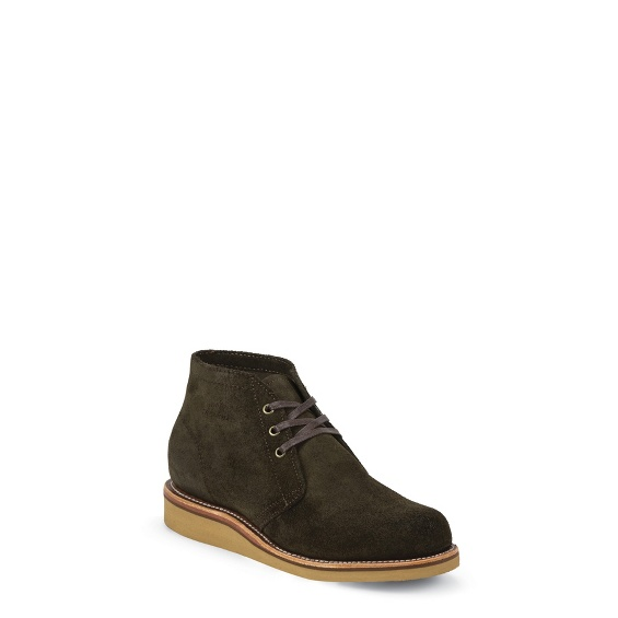 Image for MILFORD CHOCOLATE MOSS boot; Style# 1901G08