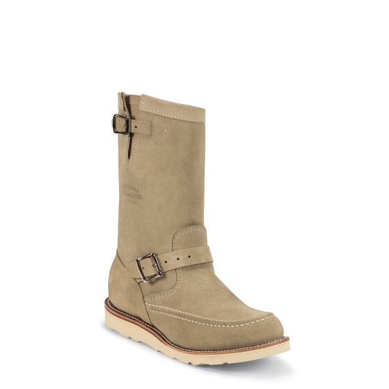 "Image for 11"" SAND SUEDE HIGHLANDER boot; Style# 1901M02"
