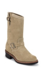 """Image for 11"""" SAND SUEDE STEEL TOE ENGINEER boot; Style# 1901M55"""