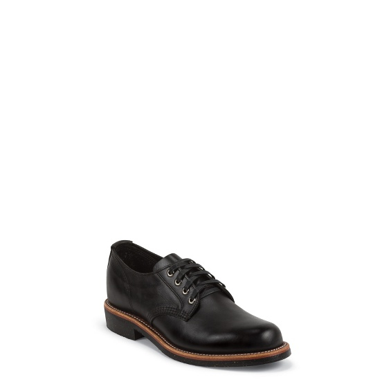 Image for HARTMAN BLACK OXFORD boot; Style# 1901M73