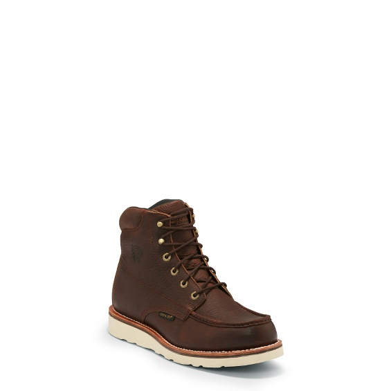 """Image for 6"""" HAYSTACK WATERPROOF MOC TOE LACE UP boot; Style# 25341"""