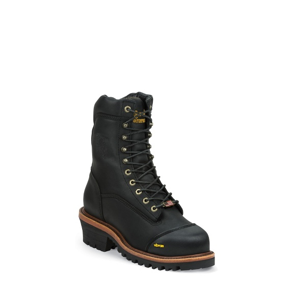 Image for GRIMSTAD BLACK INS WATERPROOF COMP TOE boot; Style# 25381