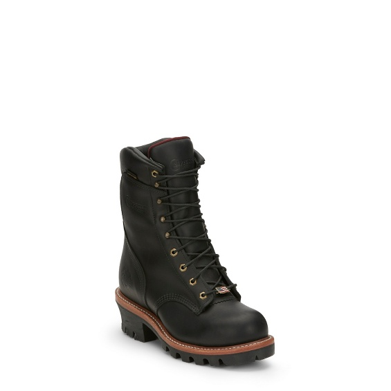 Image for ARADOR BLACK STEEL TOE boot; Style# 25410