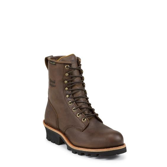 Image for ELLICOTT WATERPROOF STEEL TOE LOGGER boot; Style# 26379