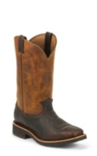 "Image for 12"" BRIAR PITSTOP SQUARE TOE PULL ON boot; Style# 29320"