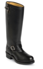 Image for BADEN TROOPER BLACK POLISH STEEL TOE boot; Style# 71418