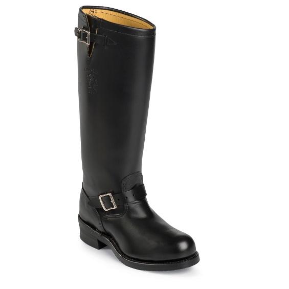 Image for BADEN TROOPER BLACK POLISH STEEL TOE boot; Style# 71418
