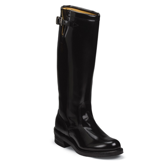 Image for BADEN TROOPER BLACK POLISH STRAPLESS boot; Style# 71419
