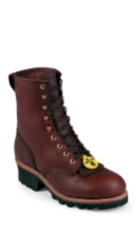 Image for BALDOR REDWOOD INS STEEL TOE LOGGER 8 boot; Style# 73030
