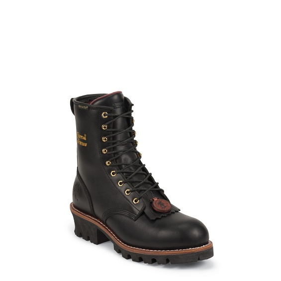 Image for PALADIN BLACK WATERPROOF STEEL TOE boot; Style# 73050