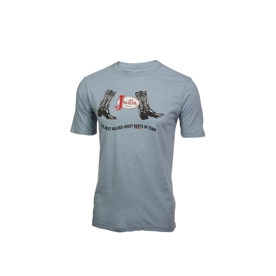Image for JUSTIN MENS MOST WALKED ABOUT-DENIM ; Style# 1TEE212
