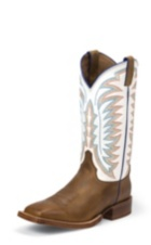 Image for HIDALGO WHITE boot; Style# 2851