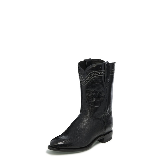 Image for BROCK ROPER BLACK SMOOTH boot; Style# 3172