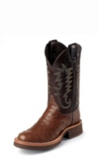 Image for PALUXY ANTIQUE BROWN FULL QUILL boot; Style# 5031