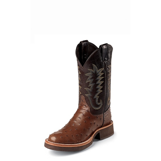 Justin Boots 5031 Paluxy Antique Brown Full Quill