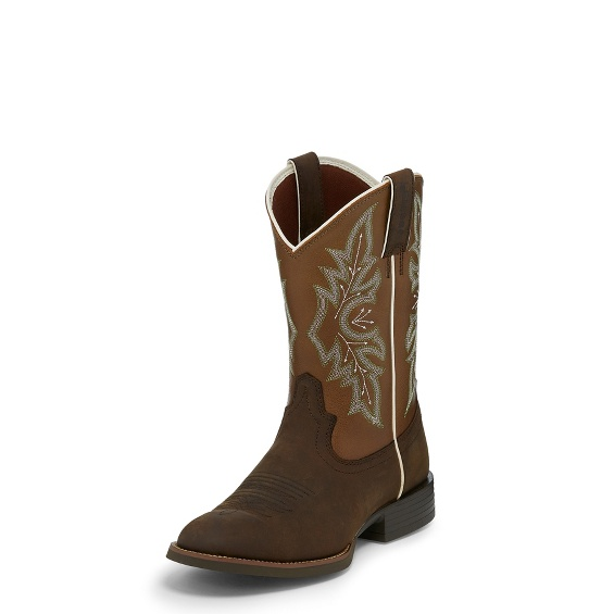 Justin Boots 7228 Buster Bronze