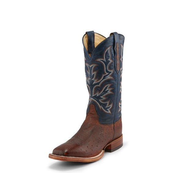 ef9258713e6 Image for HILLEL ANTIQUE SADDLE SMOOTH OSTRICH boot  Style  8292