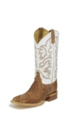 Image for PASCOE ANTIQUE TAN FULL QUILL boot; Style# 8572