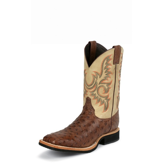 Image for PICKTON BROWN FULL QUILL boot; Style# 8582