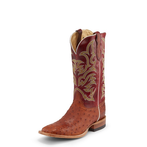 Image for PASCOE COGNAC FULL QUILL boot; Style# 8585