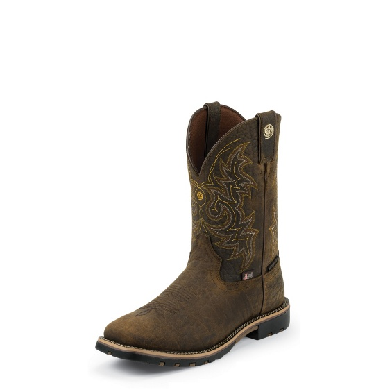 Image for FIREMAN BROWN boot; Style# GS9050