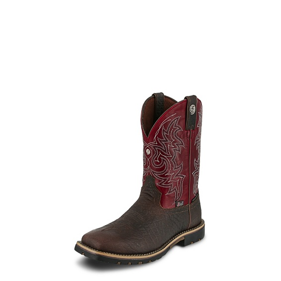 Image for FIREMAN RED boot; Style# GS9061