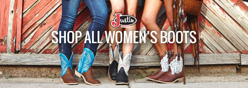 Justin Boots Shop All Women S Boots