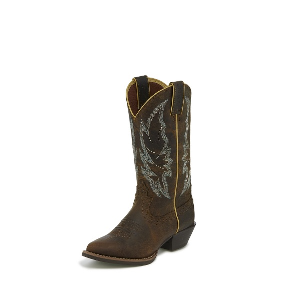 Image for CALIMERO DISTRESSED CHOCOLATE boot; Style# L2723