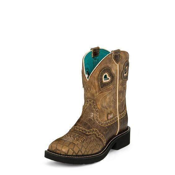 Image for MANDRA TAN GATOR boot; Style# L2930