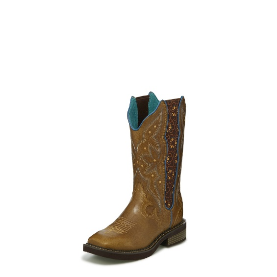 Image for AMELINE TAN boot; Style# L9515