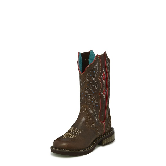 Image for LILY CHOCOLATE GORE boot; Style# L9517