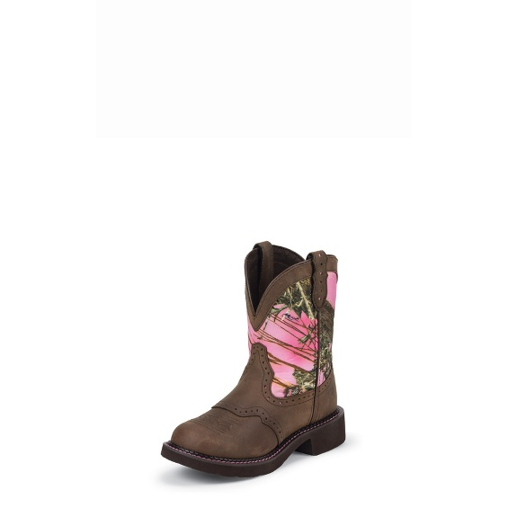 Image for GEMMA PINK CAMO boot; Style# L9610