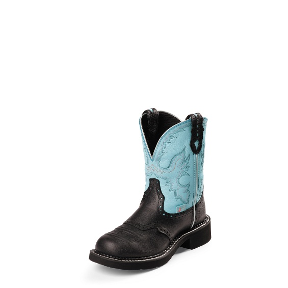 Image for GEMMA LIGHT BLUE boot; Style# L9905