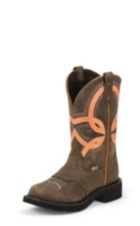 Image for BARNWOOD BROWN COW boot; Style# L9952