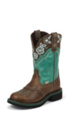 Image for INJI TURQUOISE boot; Style# L9954