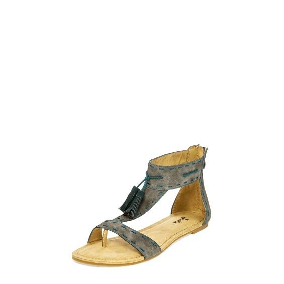Image for CLOVER GREY TASSEL shoe; Style# LS102