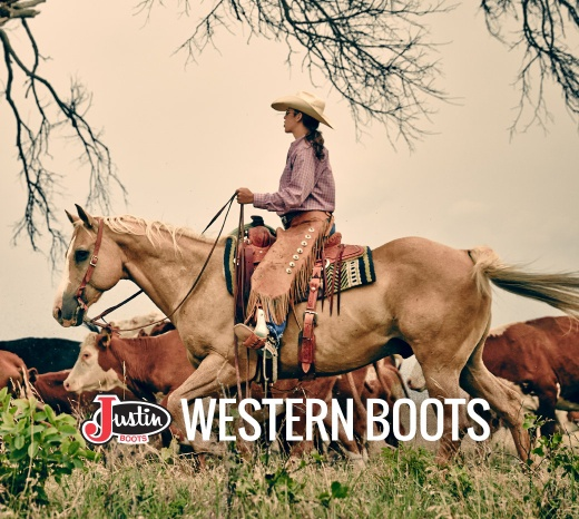 Justin Boots Western Boots For Women
