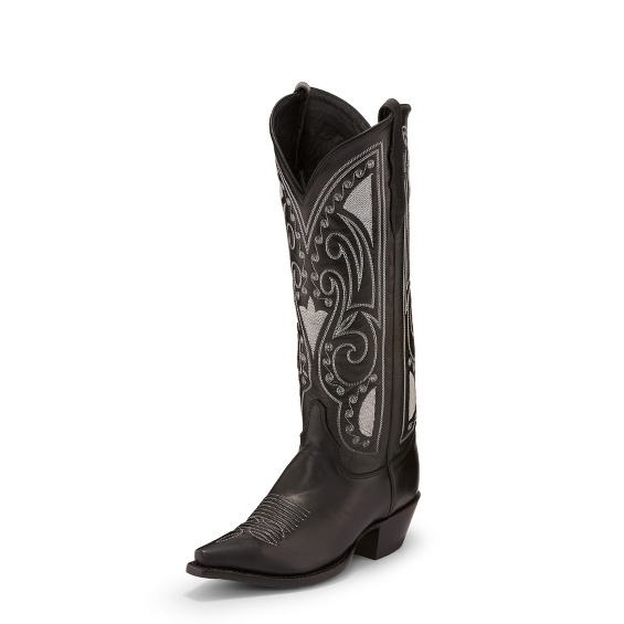 Image for STARLET BLACK WIDE boot; Style# RML357W