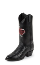 Image for DONT MESS WITH TX MEN BLACK FULL QUILL boot; Style# SB801