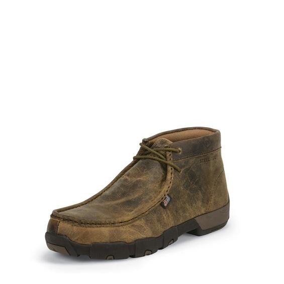 Image for CAPPIE DARK BROWN STEEL TOE shoe; Style# 235