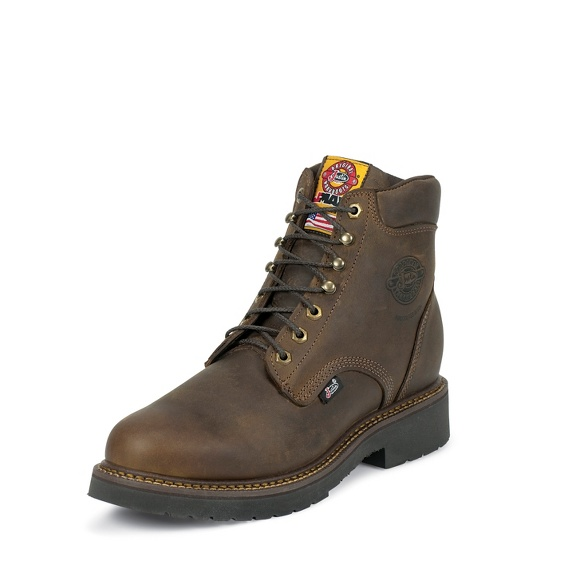 Justin Original Workboots 439 Balusters Bay Steel Toe 6