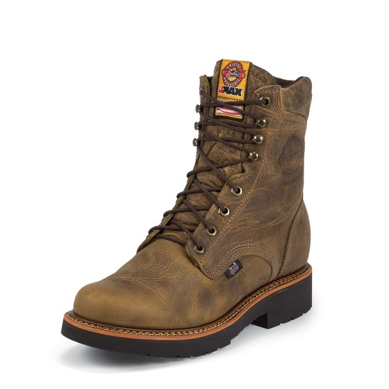 Justin Original Workboots 440 Blueprint Tan Gaucho 8