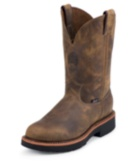 Image for BLUEPRINT PULLON TAN GAUCHO STEEL TOE 11 boot; Style# 4441