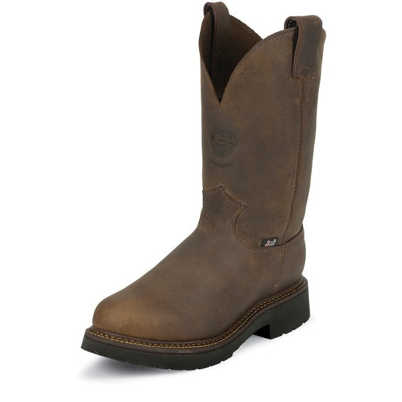 Justin Original Workboots 4444 Balusters Pullon Bay Gaucho 11