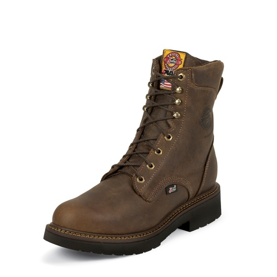 Image for BALUSTERS RUGGED BAY STEEL TOE 8 boot; Style# 445
