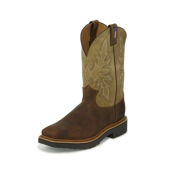 Image for SCOTTSBLUFF TAN STEEL TOE boot; Style# 4531