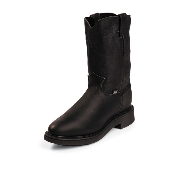 Image for CONDUCTOR PULLON BLACK boot; Style# 4763