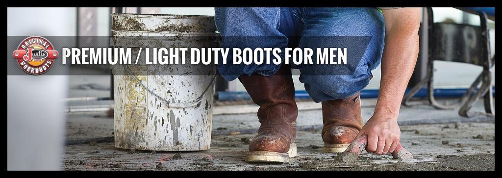Justin Original Workboots Premium Light Duty Boots For Men