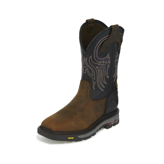 Justin Original Workboots Wk2103 Tanker Black