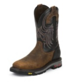 Image for TANKER BLACK STEEL TOE boot; Style# WK2104
